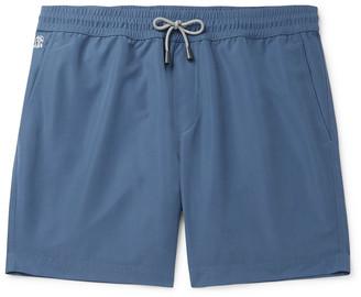 Brunello Cucinelli Wide-Leg Mid-Length Swim Shorts