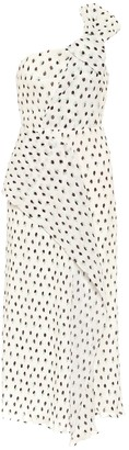Roland Mouret Giza polka-dot midi dress