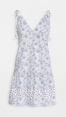 Rebecca Taylor Sleeveless Cactus Floral Dress