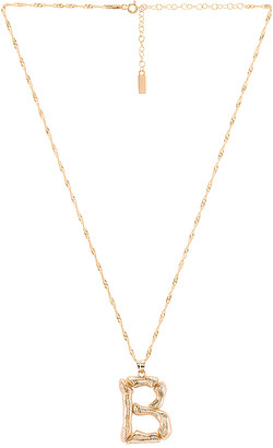 Natalie B Initial B Necklace