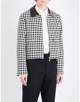 Wales Bonner Louis checked cotton jacket