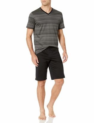 Hanro Men's Darian Short Sleeve Pajama Set