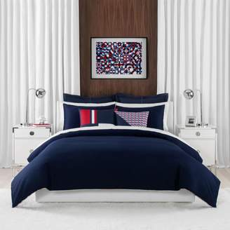 Tommy Hilfiger Classic Pique Duvet Cover Set, Full/Queen