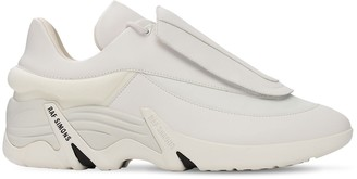 Raf Simons Antei Faux Leather Low-Top Sneakers