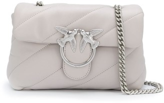 Pinko Chain-Strap Quilted Shoulder Bag