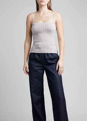 Marc Jacobs Cable-Knit Wool Cami