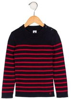 Petit Bateau Boys' Knit Striped Sweater