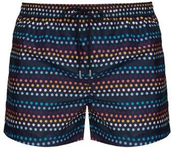 Paul Smith Polka Dot Stripe Swim Shorts - Mens - Multi