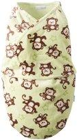 Vitamins Baby Boys Newborn Monkey Print Swaddle Blanket