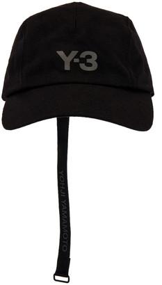 Yohji Yamamoto Y-3 CH1 Wool Cap in Black | FWRD