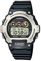 Casio Men's Digital Watch with Resin Strap W-214H-1AVEF
