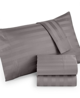 Westport CLOSEOUT! Extra Deep Queen 4-pc Sheet Set, 1000 Thread Count 100% Cotton Stripe