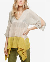 Free People Storm Clouds Asymmetrical Tunic