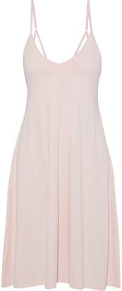 Skin Odelle Melange Pima Cotton-jersey Nightdress