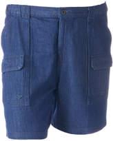 Croft & Barrow Big & Tall Side Elastic Cargo Shorts
