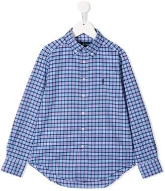 Ralph Lauren Kids checked shirt