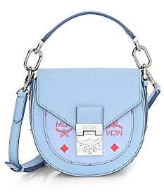 MCM Women's Mini Patricia Block Visetos Leather Shoulder Bag