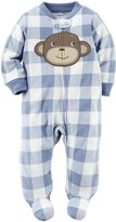 Carter's Sleep N Play Footie (Baby) - Blue - 6 Months
