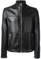 Diesel Black Gold perforated jacket