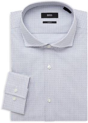 HUGO BOSS Jason Sharp-Fit Print Dress Shirt