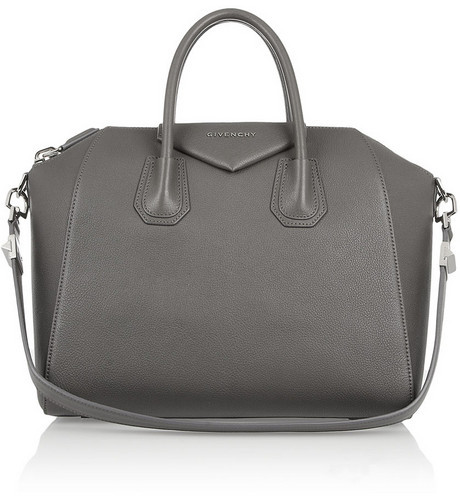 Givenchy Medium Antigona bag in gray leather