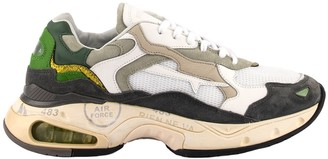 Premiata Sneakers Sharky White/green