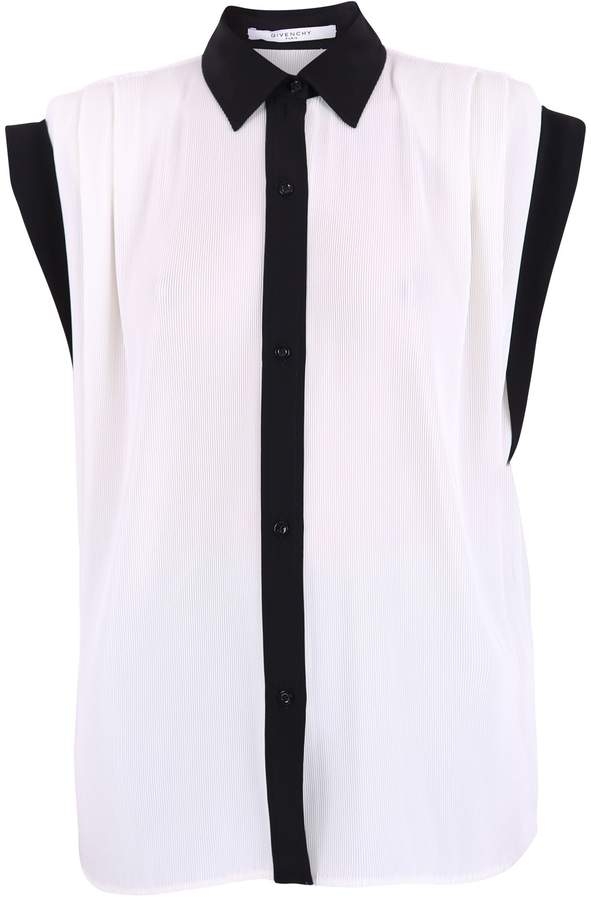 Givenchy White And Black Shirt
