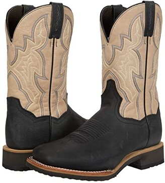 Dan Post Draven (Black/Bone) Men's Boots