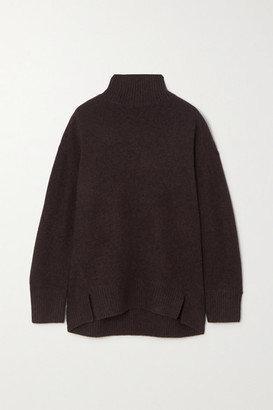 Vince Cashmere Turtleneck Sweater - Dark brown