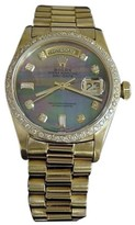 Rolex Day-Date 18038 President Solid 18K Yellow Gold Watch 36mm