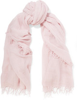 Chan Luu Cashmere And Silk-blend Scarf - Pink
