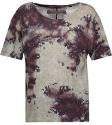 Enza Costa Boy Tie-Dyed Pima Cotton T-Shirt