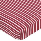 JoJo Designs Sweet Treasure Cove Pirate Fitted Crib Sheet - Stripe