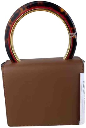 Marni Pannier Brown Leather Handbags