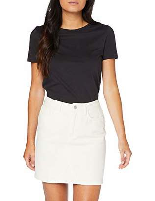 New Look Women's Colour Mom Skirt, Off-White (Off White ), (Manufacturer Size:)