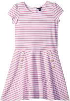 Tommy Hilfiger Yarn-Dye Stripe Dress Girl's Dress
