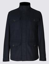 Blue Harbour Wool Blend 4 Pocket Jacket
