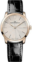 Gucci 49528.52.131.CB6A 1966 18ct rose-gold and alligator-leather watch