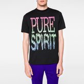 Paul Smith Men's Black 'Pure Spirit' Print T-Shirt