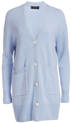 St. John Luxe Cashmere Knit Cardigan