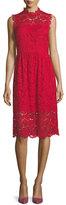 Kate Spade Sleeveless Poppy Lace Midi Dress