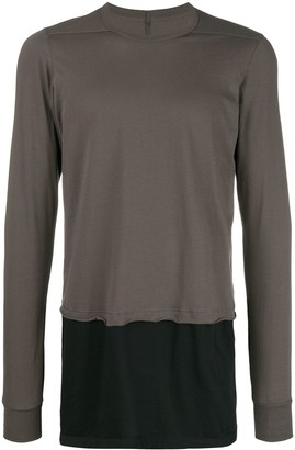 Rick Owens layered T-shirt