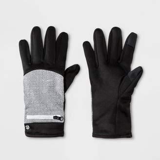 Champion Women's Reflective Zipper Pocket Glove Black
