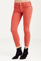 True Religion Halle Super Skinny Cropped Womens Jean