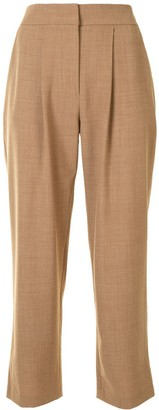 ANNA QUAN Pleat Detail Trousers