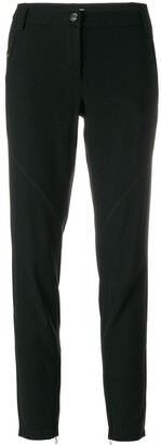 Moschino Pre Owned Skinny Zipped Trousers