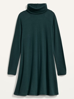 Old Navy Cozy Turtleneck Swing Dress for Women