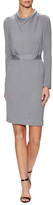 Armani Collezioni Jersey Belted Above The Knee Dress
