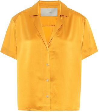 ASCENO Prague silk shirt
