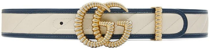 Gucci GG motif leather belt